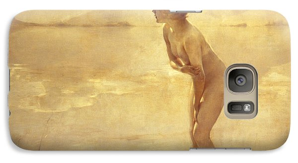 Nudes Galaxy S7 Case - Chabas, September Morn by Paul Chabas