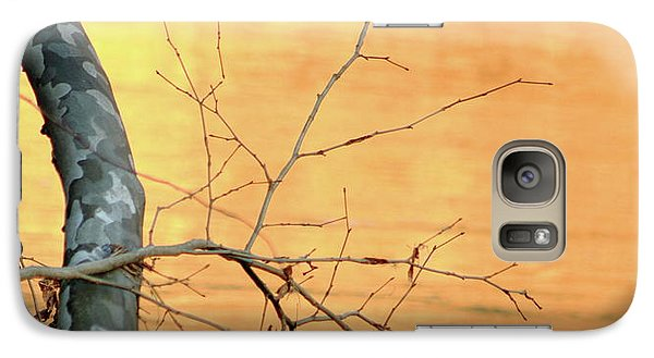 Galaxy Case featuring the photograph Chagrin River Gold by Bruce Patrick Smith