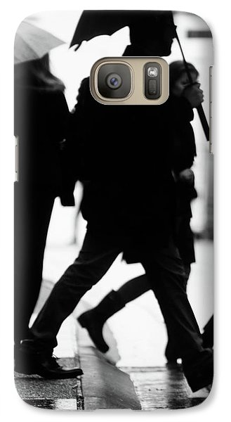 Galaxy Case featuring the photograph Challenge Of Peace  by Empty Wall
