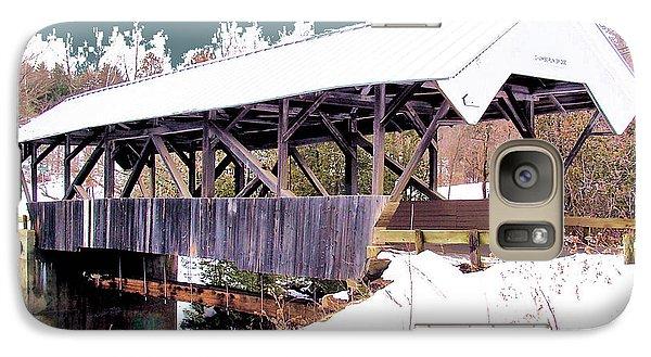 Galaxy Case featuring the digital art Chamberlain Bridge by John Selmer Sr