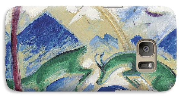 Chamois Galaxy Case by Franz Marc