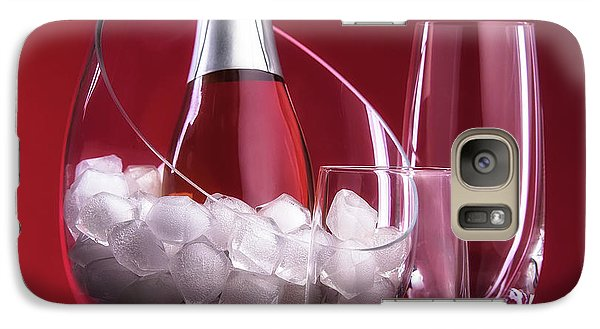Galaxy Case featuring the photograph Champagne For Two by Tom Mc Nemar
