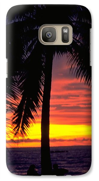 Champagne Sunset Galaxy S7 Case