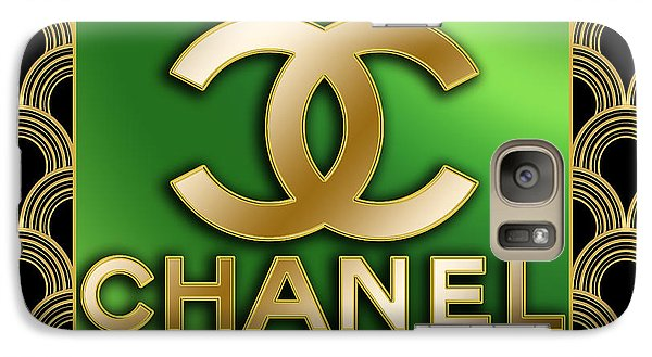 Galaxy Case featuring the digital art Chanel - Chuck Staley by Chuck Staley