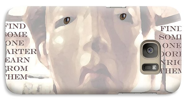 Galaxy Case featuring the painting Change by Charlie Spear