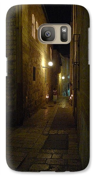 Galaxy Case featuring the photograph Chanukah At The Old City Of Jerusalem by Dubi Roman