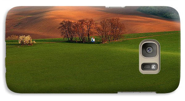 Galaxy Case featuring the photograph Chapel St Barbara. Moravia by Jenny Rainbow