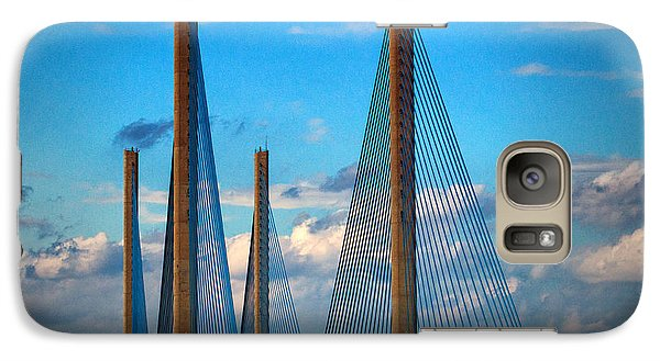 Charles W Cullen Bridge South Approach Galaxy S7 Case