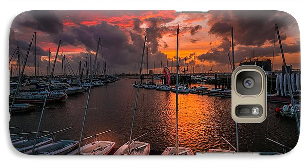Galaxy Case featuring the photograph Charleston Harbor by RC Pics