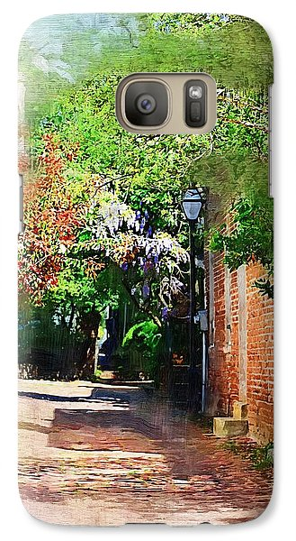 Galaxy Case featuring the photograph Charlestons Alley by Donna Bentley
