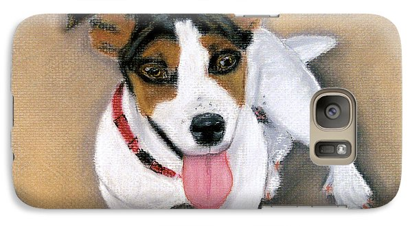 Galaxy Case featuring the pastel Charley by Jan Amiss