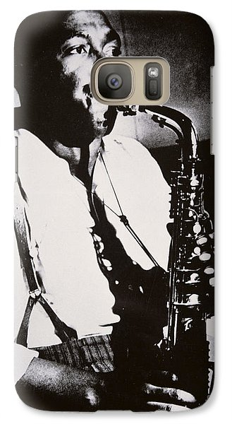 Saxophone Galaxy S7 Case - Charlie Parker by American School