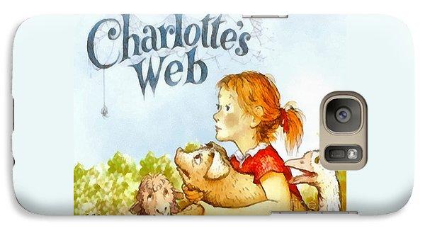 Geese Galaxy S7 Case - Charlottes Web by Elizabeth Coats