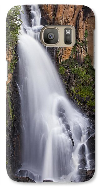 Galaxy Case featuring the photograph Chasing Waterfalls by Tim Reaves