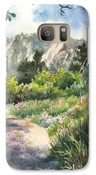 Galaxy Case featuring the painting Chautauqua Morning by Anne Gifford
