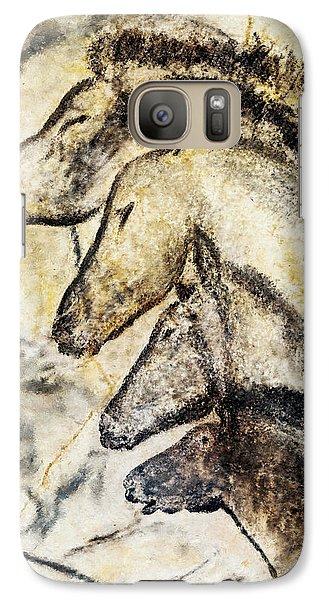 Chauvet Horses Galaxy S7 Case