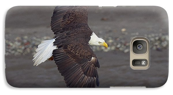 Galaxy Case featuring the photograph Checking Out The River by Elvira Butler