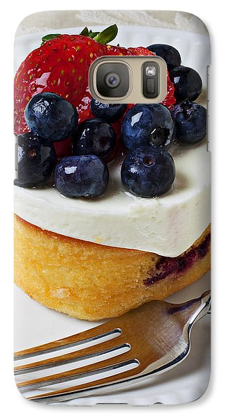 Cheese Cream Cake With Fruit Galaxy S7 Case
