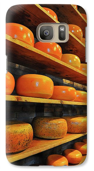 Galaxy Case featuring the photograph Cheese In Holland by Harry Spitz