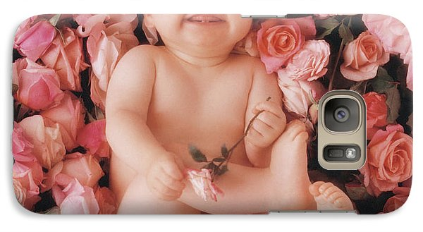 Rose Galaxy S7 Case - Cheesecake by Anne Geddes