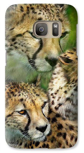 Cheetah Moods Galaxy S7 Case