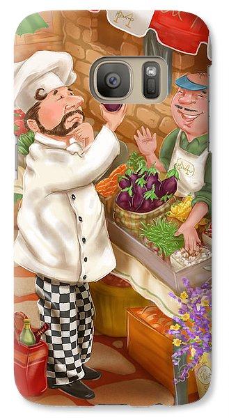Chefs Go To Market I Galaxy S7 Case