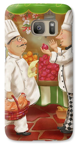 Chefs Go To Market Iv Galaxy S7 Case
