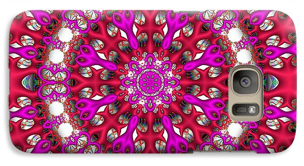 Galaxy Case featuring the digital art Chemistry by Robert Orinski