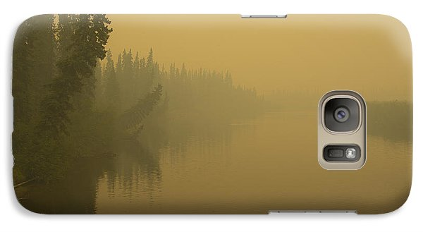 Galaxy Case featuring the photograph Chena River by Gary Lengyel