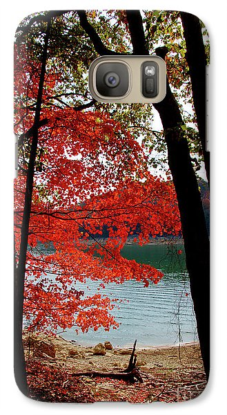 Galaxy Case featuring the photograph Cherokee Lake Color by Douglas Stucky