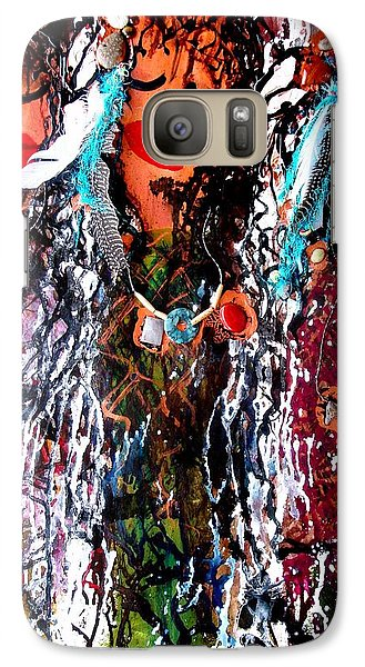Galaxy Case featuring the painting Cherokee Trail Of Tears  by Laura  Grisham