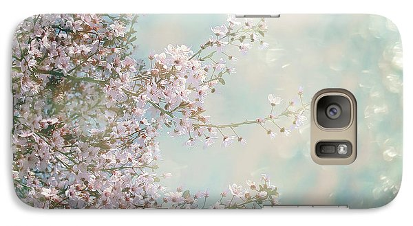 Galaxy Case featuring the photograph Cherry Blossom Dreams by Linda Lees
