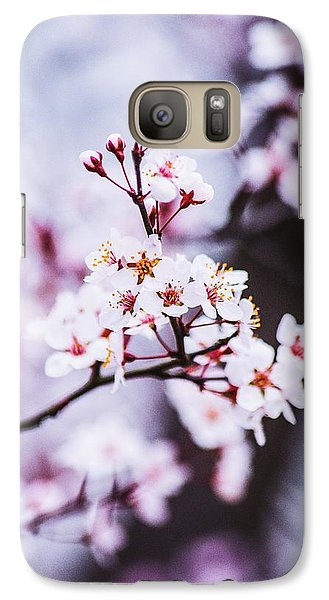 Galaxy Case featuring the photograph Cherry Blossoms by Parker Cunningham