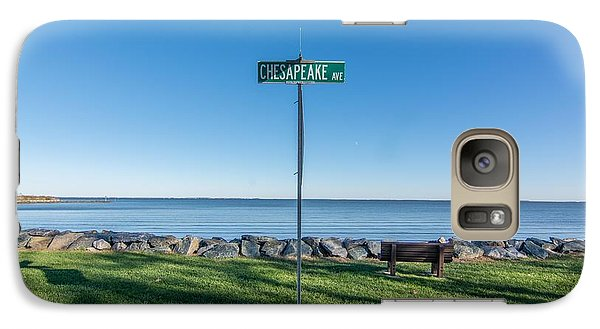 Galaxy Case featuring the photograph Chesapeake Ave by Charles Kraus