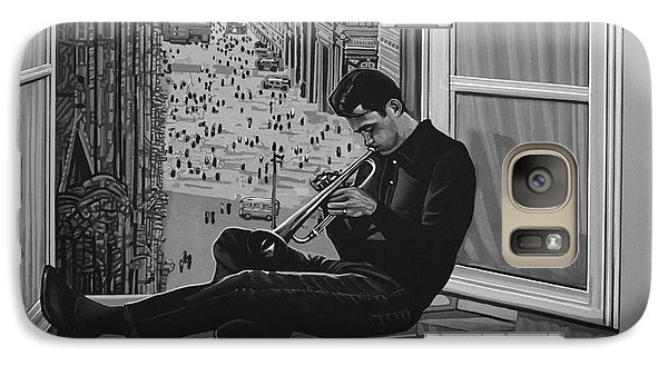 Trumpet Galaxy S7 Case - Chet Baker by Paul Meijering