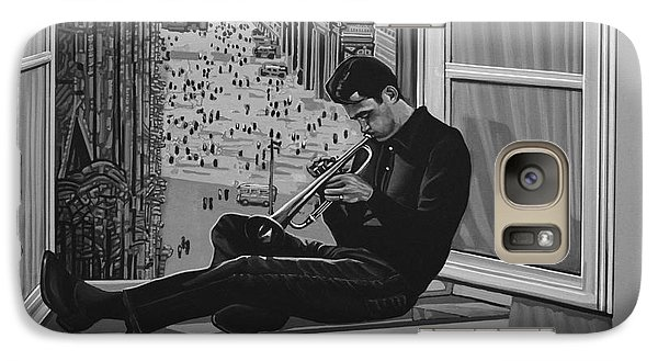 Chet Baker Galaxy S7 Case by Paul Meijering