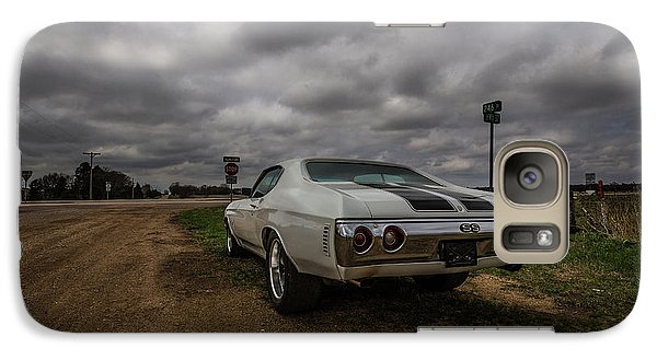 Galaxy Case featuring the photograph Chevelle Ss by Aaron J Groen