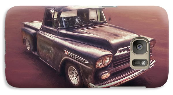 Truck Galaxy S7 Case - Chevrolet Apache Pickup by Scott Norris