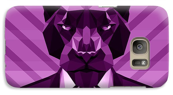 Chevron Panther Galaxy Case by Gallini Design