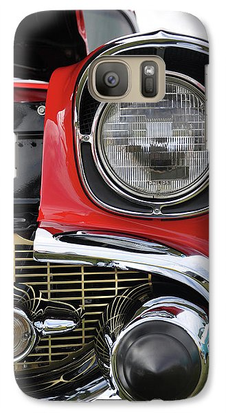 Galaxy Case featuring the photograph Chevy Bel Air by Glenn Gordon