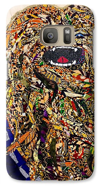 Galaxy Case featuring the tapestry - textile Chewbacca Star Wars Awakens Afrofuturist Collection by Apanaki Temitayo M