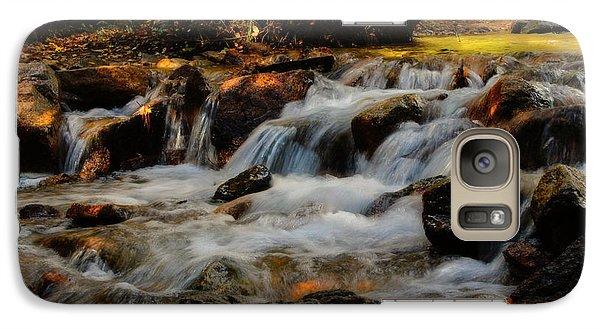 Galaxy Case featuring the photograph Cheyenne Canyon Autumn by Ellen Heaverlo