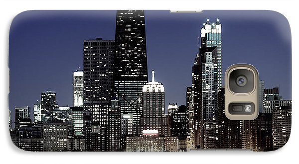 Chicago At Night High Resolution Galaxy S7 Case