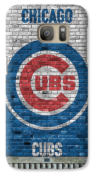 Chicago Cubs Brick Wall Galaxy S7 Case