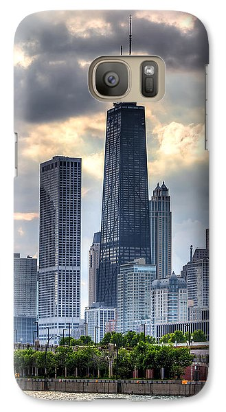 Chicago From The Pier Galaxy S7 Case by Joshua Ball