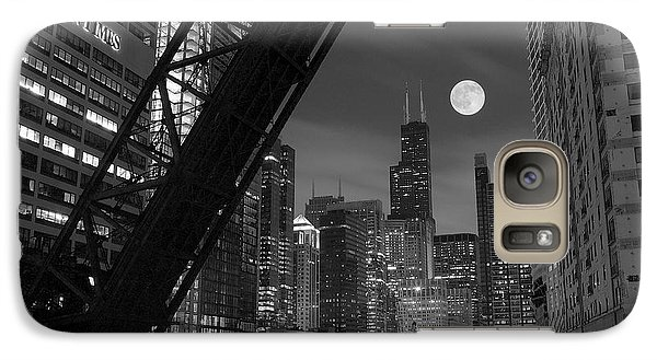 Soldier Field Galaxy S7 Case - Chicago Pride Of Illinois by Frozen in Time Fine Art Photography