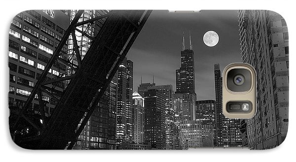 Chicago Pride Of Illinois Galaxy Case by Frozen in Time Fine Art Photography