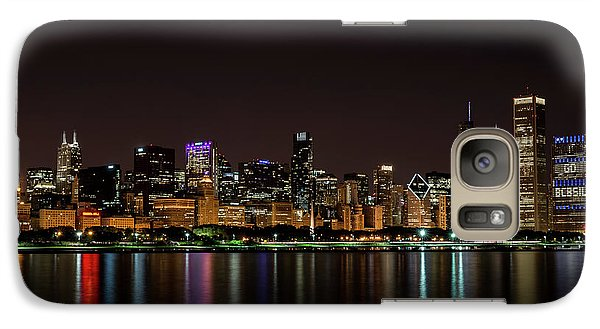 Galaxy Case featuring the photograph Chicago Skyline by Andrea Silies
