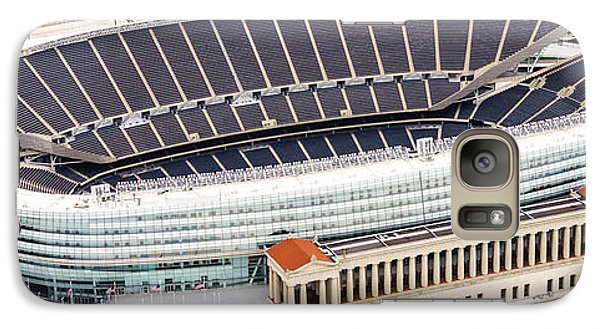 Chicago Soldier Field Aerial Photo Galaxy Case by Paul Velgos