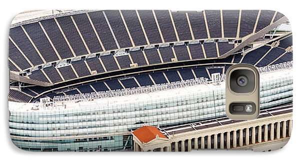 Chicago Soldier Field Aerial Photo Galaxy S7 Case